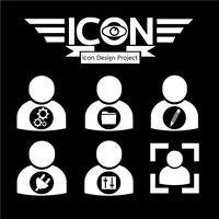 icono de personas símbolo signo
