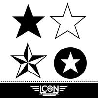 star icon  symbol sign