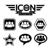 mensen pictogram symbool teken