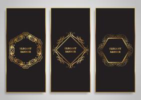 Designs de banner elegante