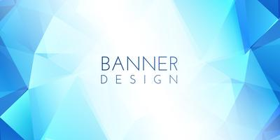 Low poly banner design