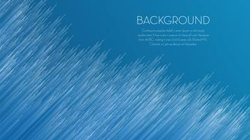 Blue line abstract background vector