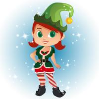 avatar cartoon with elf costume