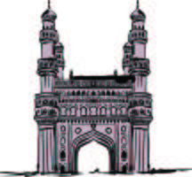 Char Minar vector