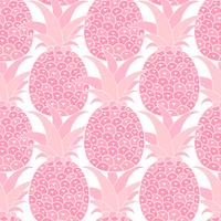 Pineapples seamless pattern. Tropical background. Vector illustration. Ready For Your Design, Greeting Card