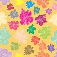 Floral element sömlös bakgrund.