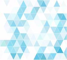Fundo de mosaico de grade azul, modelos de Design criativo