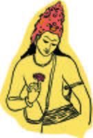 Ajanta Zeichnungsvektor