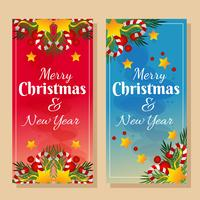 banner de tema de navidad