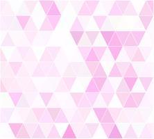 Fundo de mosaico de grade rosa, modelos de Design criativo