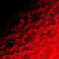 Rotes Dachziegelmuster, kreative Design-Schablonen