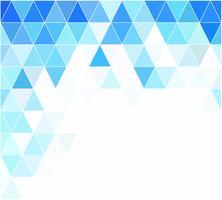 Blue Grid Mosaic Background, Creative Design Templates vector