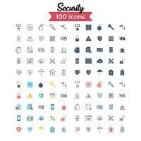 Sicherheits-Icon-Set Vektor
