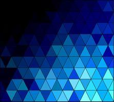 Blue Square Grid Mosaic bakgrund, kreativa design mallar