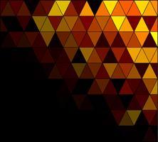 Gul Square Grid Mosaic Bakgrund, kreativa design mallar