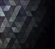 Black Square Grid Mosaic bakgrund, kreativa design mallar