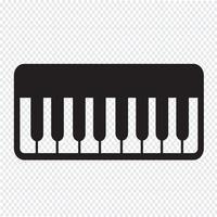 Piano Icon  symbol sign