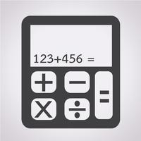 calculator icon  symbol sign