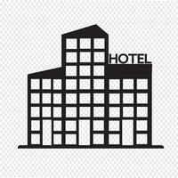 hotel pictogram symbool teken