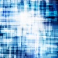 Des lignes bleues géométriques abstraites chevauchent le concept technologique de fond couche brillant affaires.
