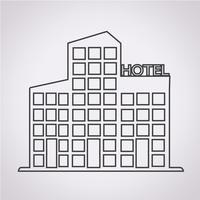 Hotel Symbol Symbol Zeichen