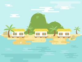 Férias de Verão, poster da Ilha Resort