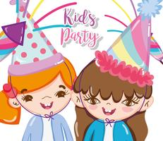 Kinderfeest cartoons