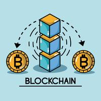 blockchain cubes digital security technology