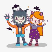 Halloween en kinderen cartoons
