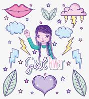 Girl power cartoons