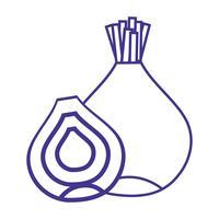 línea cebolla orgánica nutrición sabor vegetal