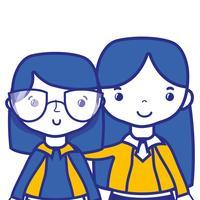 lärare med student till klasslärningslektion