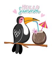 Hello summer cartoons