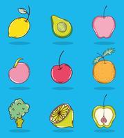 Jogo, de, frutas, cobrança