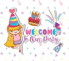 Kinder-Party-Cartoons