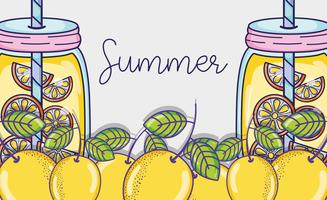 Hallo Sommer-Cartoons