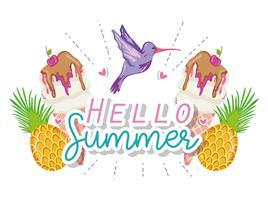 Hallo Sommerkarte