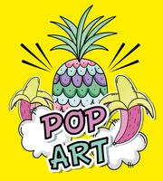 Pop-Art-Cartoons-Konzept