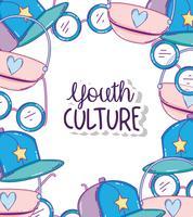 Desenhos de cultura juvenil