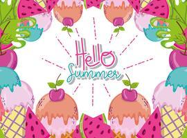 Bonjour les dessins animés de l'été