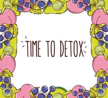 Time to detox frame