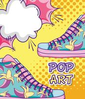 Pop-Art lustige Cartoons
