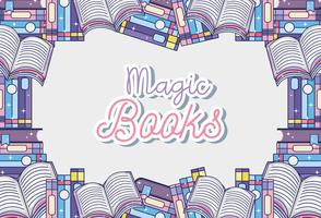 Fantasy and magic books