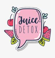 Fruit juice detox