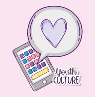 Youth culture cartoons