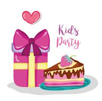 Kids party cartoon
