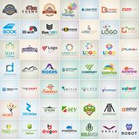 49 Corporate Logos Design Template Set