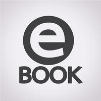 E-Book icon  symbol sign vector