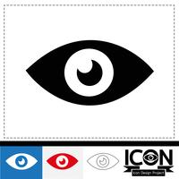eye icon  symbol sign