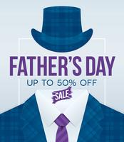 Fathers Day promotion flyer